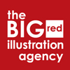 The Big Red Illustration Agency Logo