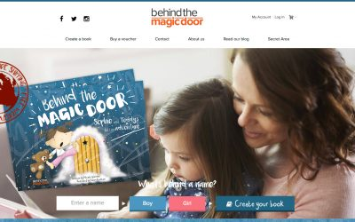Illustrated childrens book now listed on 'Not On The High Street' website