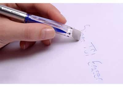 uni-ball TSI Erasable UF-220-Erasable Ink Rollerball Pen