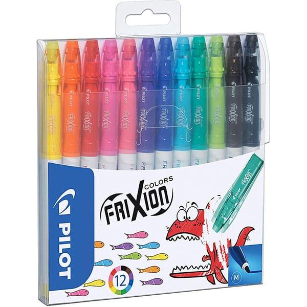 Pilot Frixion Colors Erasable-Fibre-Tip Colouring Pen assorted