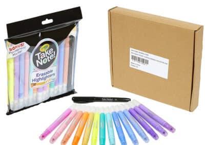 Crayola Take Note 14 Erasable Highlighters