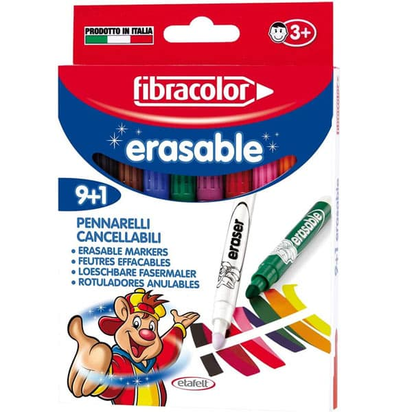 Fibracolor Erasable Magic Pens