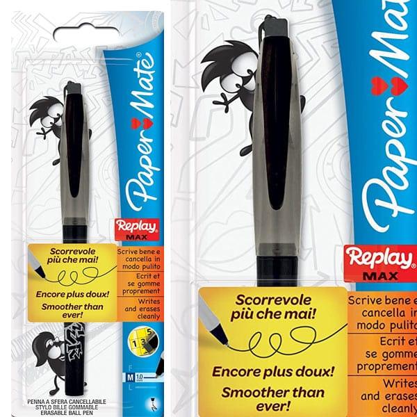 Paper Mate Replay Max Erasable Ball Pen