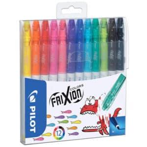 Pilot Frixion Erasable Fibre Colouring Pens