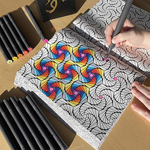 adult coloring pens