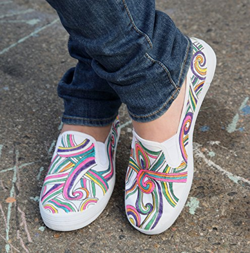 marker pen shoes design