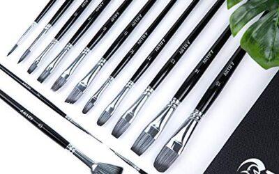 Best acrylic paint brushes US