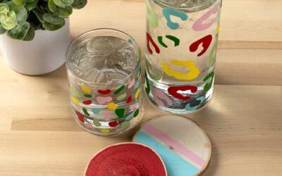Acrylic Paint On Glass US