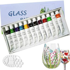 Acrylic paint on glass products
