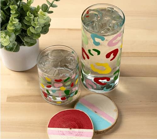 Acrylic Paint On Glass UK