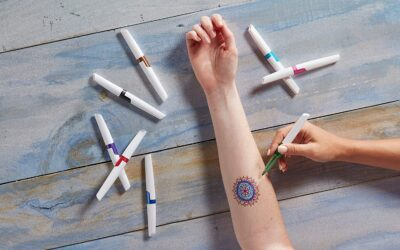 Best markers to draw on skin